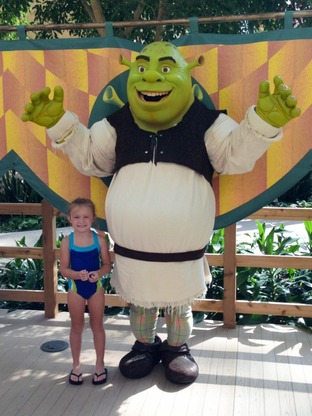Meeting Shrek