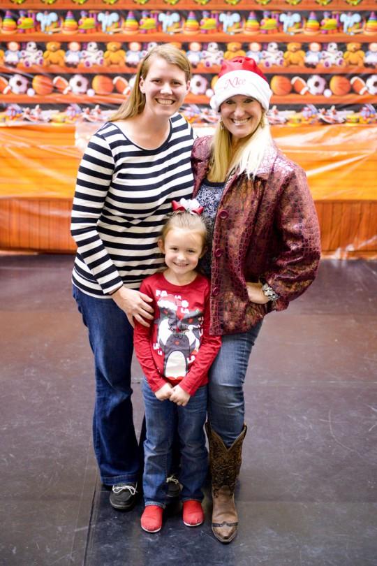 Brooke, Mrs. Vicki and I.
