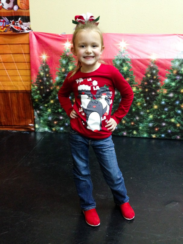 My sweet girl at her Christmas dance recital!