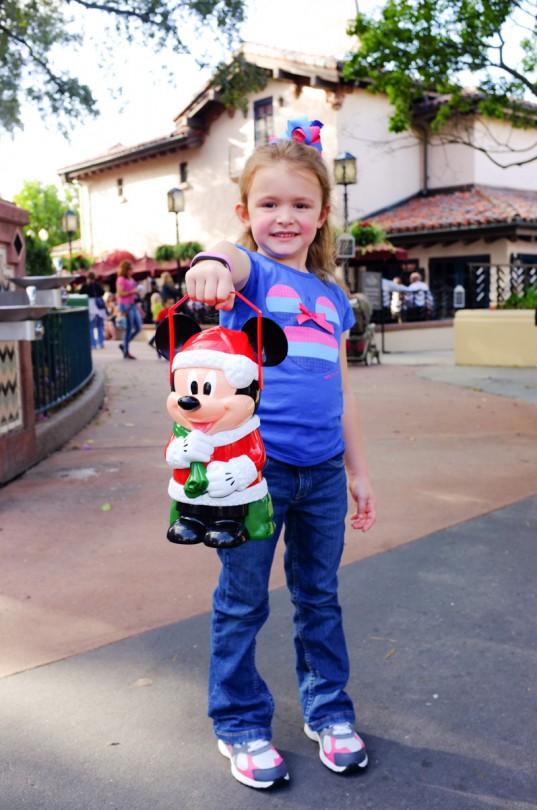 Brooke's Mickey popcorn bucket!