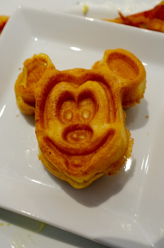 Mickey Mouse Waffles!