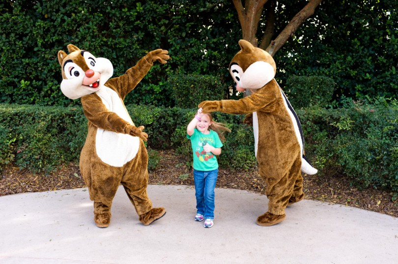 Dancing with Chip and Dale!