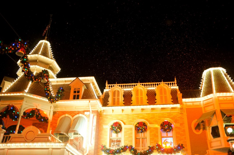 Snow on Main Street!