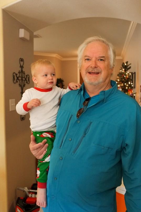 Papa and Luke!