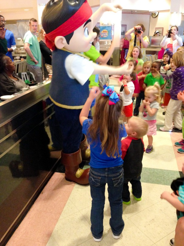 Dancing with Jake! This was Luke's favorite!