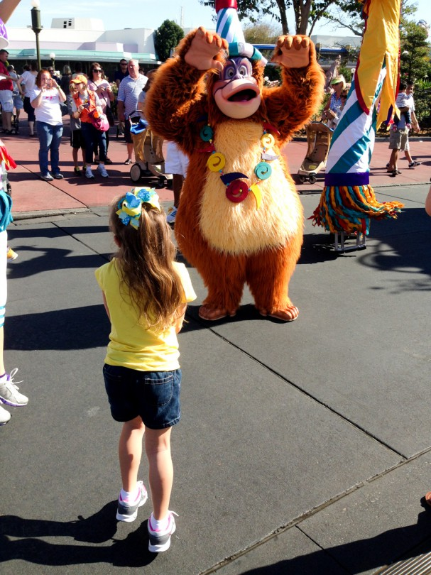 Dancing with King Louie