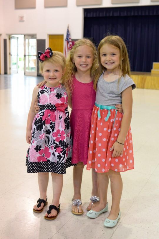 Carley, Nicole and Brooke! Sweet friends!